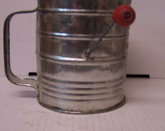 Bromwell's Flour Measurer and Sifter, Baker's Tools
