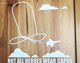 Heroes Wall Decal Etsy - Superhero wall decalssuper hero wall art etsy