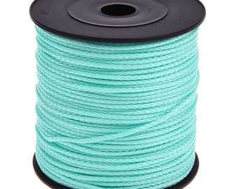 Pacifier Mint 1.5 MM 5 M extremely durable polyester thread cord, perfect for pacifier, rattle, door keys, clip blanket