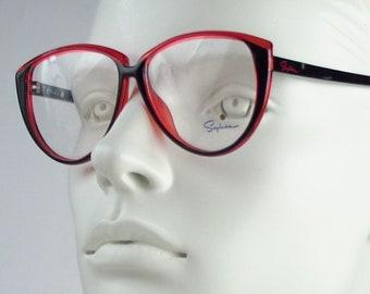 Saphira 4144 / Vintage 80s  Eyeglasses / N O S  / made in Austria    art. A