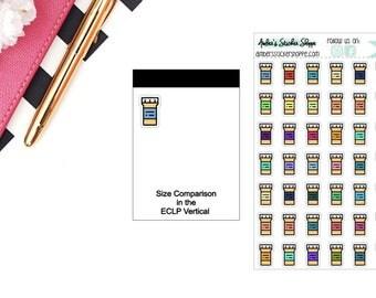 RX Prescription Refill  Planner Stickers