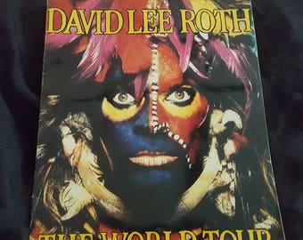 David Lee Roth The World Tour Concert Program