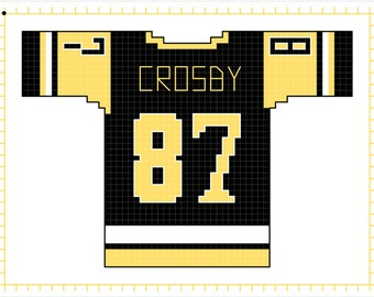 Sidney Crosby Pittsburgh Penguins Home Jersey