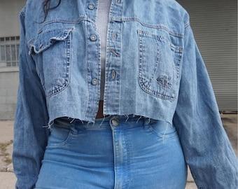 Vintage Calvin Klein Denim Shirt Size L