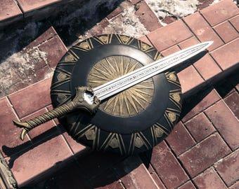 Wonder woman weapon set shielld & sword