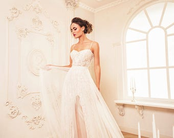 """New collection/ """"Alicia"""" gown Chis Bridal desses/ Lace Wedding gown/bridal gown"""