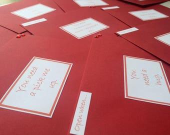 Open when envelopes