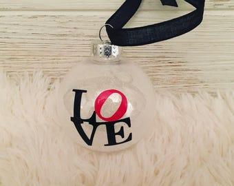 Philadelphia Love ornament