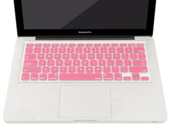 Keyboard Cover for MacBook Pro 13 Inch, 15 Inch (with or without Retina Display, 2015 or Older Version) MacBook Air 13 Inch