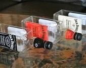 JackDaniels Gifts -  Serving Dish / Bottle Planter / Vase / Whiskey Bottle / Indoor Garden / Indoor Plants / Succulents / Alcohol Gifts