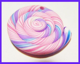 Lollipop sweet kawai polymer clay fimo charm bead