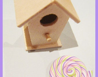 Cabochon ♥ - ♥ pastel color polymer clay spiral