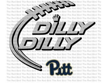 Dilly Dilly PA Pitt Football funny printable Digital download cut file  SVG, DXF, PnG, EpS, PdF