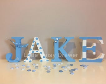 Personalised Small Freestanding Letters