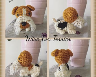 Crochet Dog - Plush Dog - Knit Dog - Small Crochet Dogs