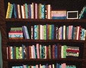 Lap Size Bookshelf Quilt