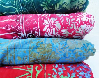 Four Yoga Blankets Flower