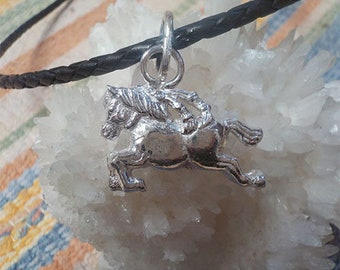 Sterling Silver Lunar Year of the Horse Pendant
