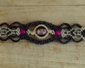 The fine, handmade bracelet
