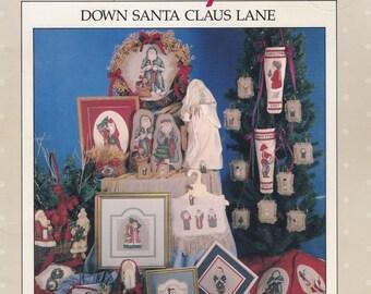 Down Santa Claus Lane, Alma Lynne Christmas Sampler Cross Stitch Pattern Booklet ALX-65