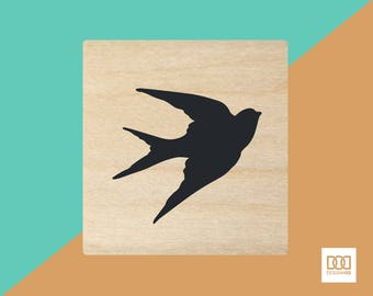 Swallow - 1.5cm Rubber Stamp (DODRS0220)