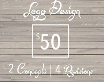 Logo Design / 2 Concepts / 4 Revisions