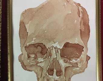 Human Blood Painting- Top Half