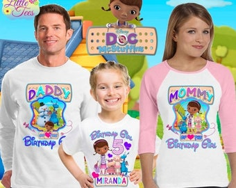 15% Off Doc Mcstuffins shirt/Doc mcstuffins birthday shirt/ family vacation shirt/birthday shirt/birthday princess shirt / familydoc