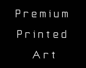 Shipped Premium Printed Poster - Get your Printable Artwork Printed & shipped to your home - Matte Paper Poster Poster