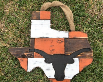 "Custom 24"" Texas Longhorn Cedar board"
