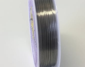 26 Gauge Pure Titanium Wire - 100% Guarantee - Specific for Jewelry Surgical Grade 1