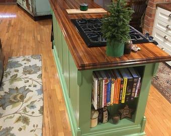Wood Walnut Custom Coutertops|Bathroom|Kitchen|Handmade