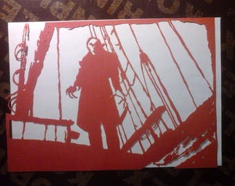 Nosferatu cutter portrait