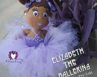 Crochet Doll Pattern; Ballerina