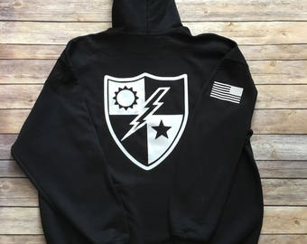 Army Ranger Hoodie/Rangers Lead The Way/Gift/ Present