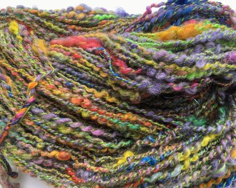 Crayon Jumble - Hand Spun, Hand Dyed Alpaca Yarn