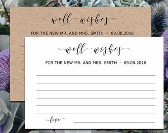 well wishes cards wedding advice cards template for newlyweds well wishes for baby