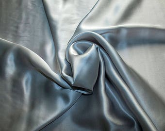 1712-181 - Crepe Satin silk 100%, width 135/140 cm, made in Italy, dry cleaning, weight 100 gr