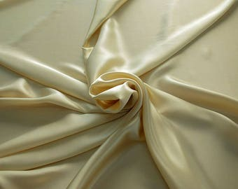 1712-004 - Crepe Satin silk 100%, width 135/140 cm, made in Italy, dry cleaning, weight 100 gr