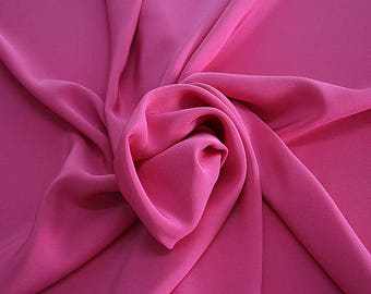 305130-Crepe marocaine Natural Silk 100%, width 130/140 cm, made in Italy, dry cleaning, weight 215 gr
