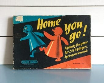 1960s Board Game 'Home You Go' by Spears Games