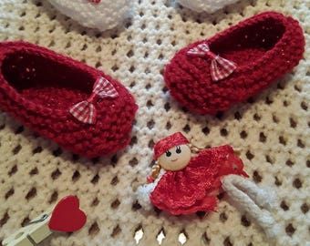 2 pairs baby slippers