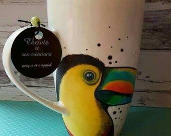 Colorful Toucan mug