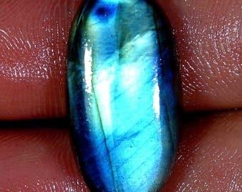 Labradorite with beautiful blue reflections