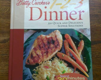 CookBook Betty Crocker 1-2-3