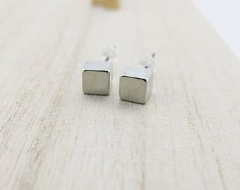 Mini Stud Earrings silver BOFA03048