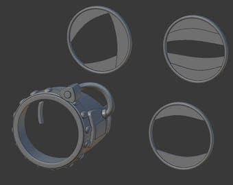 Spider-man's goggles from Spider-Man: Homecoming for 3D-printing