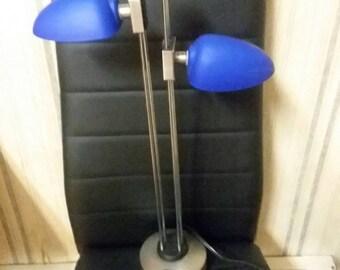Floating Blue Light w/Spinning Light.