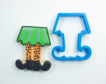 Witch Legs Cookie Cutter