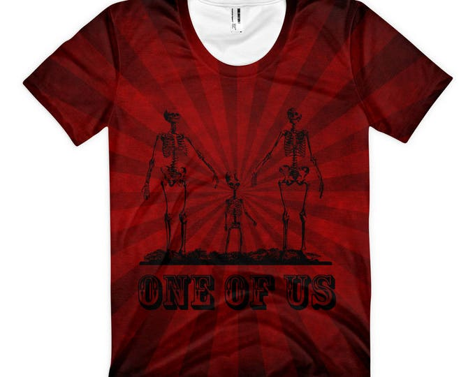 One Of Us- Striped Femme Tee- Limited